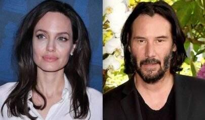 Rumores apontam que Angelina Jolie estaria namorando Keanu Reeves