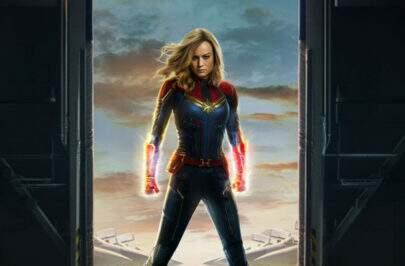 Brie Larson, a Capitã Marvel, assinou contrato para sete filmes da Marvel