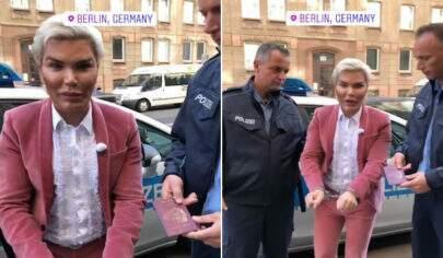 Com problema no passaporte, Ken Humano é preso na Alemanha e grava ação da polícia
