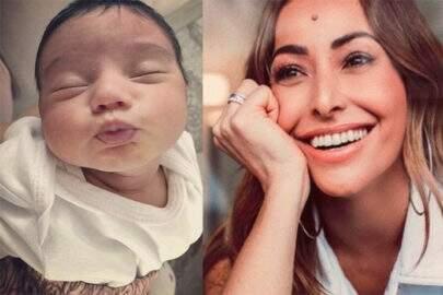 NASCEU? Sabrina Sato divulga foto de bebê e confunde seguidores