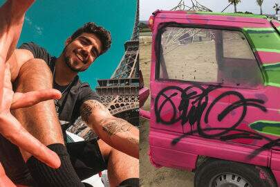 Caio Castro é acusado de vandalismo e de destruir carros na Espanha