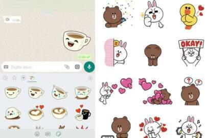 Whatsapp começa a liberar adesivos para iPhone e Android