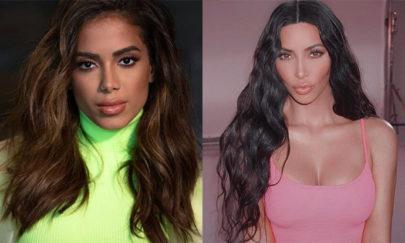 """Anitta aparece com novo visual e fãs disparam: """"Parece a Kim Kardashian"""""""