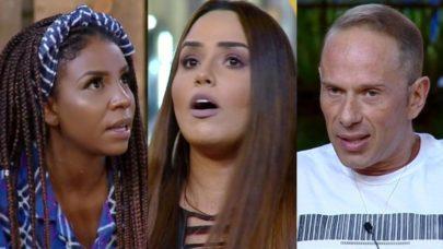 """""""A Fazenda 10"""": Luane Dias, Perlla e Rafael Ilha formam quarta roça"""