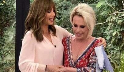 Ana Maria Braga vai às lágrimas ao receber Ana Furtado e falar sobre câncer de mama