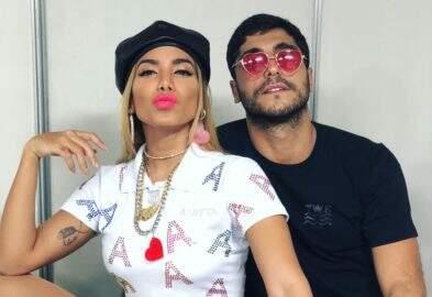 Ex-marido de Anitta, Thiago Magalhães não teria gostado de beijo da cantora em premiação
