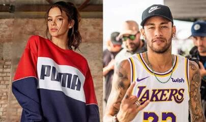"""Neymar posta música romântica e fãs apontam indireta para Bruna Marquezine: """"Sei que ainda te amo"""""""