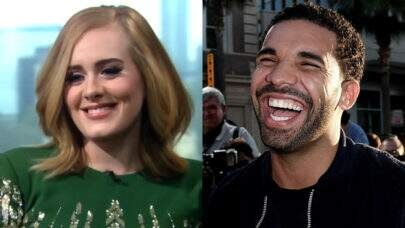Reação de Drake ao descobrir que Adele estava em seu show foi incrível