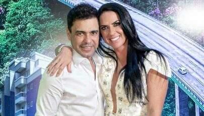 "Zezé Di Camargo faz Graciele Lacerda trocar de roupa após ""reprovar"" look escolhido"