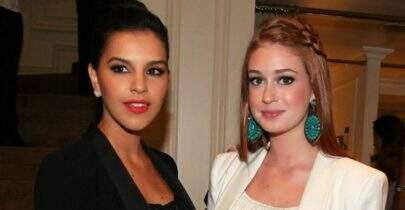 Marina Ruy Barbosa e Mariana Rios se evitam em festa, afirma site