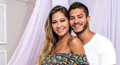 Mayra Cardi dá à luz Sophia, primeira filha com Arthur Aguiar