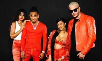 """""""Taki Taki"""", clipe de DJ Snake, Cardi B, Selena Gomez e Ozuna, atinge 100 milhões de views"""