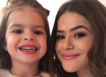 """Maisa Silva conhece Valentina e brinca: """"Nossa amizade não aconteceu"""""""