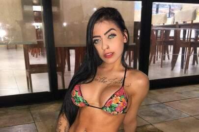 """MC Mirella mostra tatuagens polêmicas na virilha e cóccix: """"Quer Mais? Bate"""""""