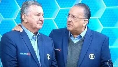 Arnaldo Cezar Coelho se despede da Globo e emociona Galvão; confira a repercussão na web