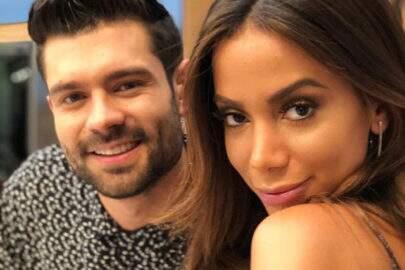 Anitta beija apresentador colombiano e deixa fãs enlouquecidos