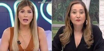 Lívia Andrade e Sonia Abrão se alfinetam e protagonizam barraco ao vivo