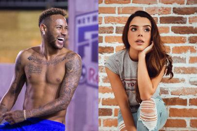 """Neymar reage em foto de Giovanna Lancellotti e brinca: """"Lá vem os contadores de fadas"""""""