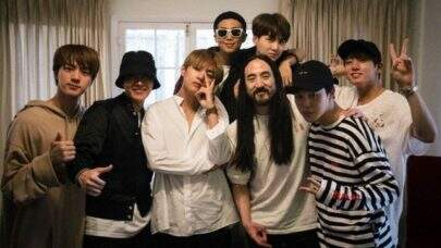 "Finalmente! Steve Aoki e BTS lançam clipe de ""Waste It On Me"""