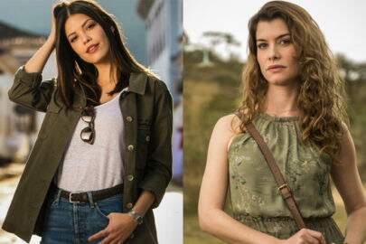 Vitória Strada e Alinne Moraes são iguais mas ninguém tinha reparado antes