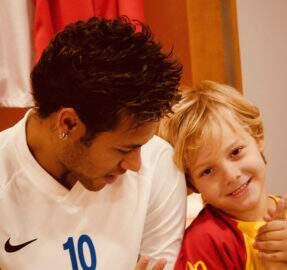 Neymar conta que Davi Lucca já brigou na escola por sua causa