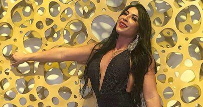 Ex-BBB Priscila Pires posa de biquíni e ostenta corpão em cachoeira