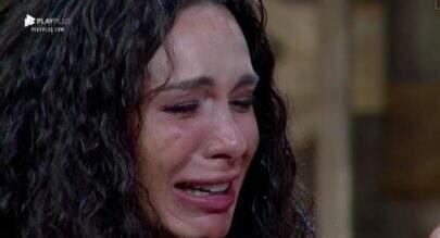 """""""A Fazenda 10"""": Após ser eliminada, Fernanda Lacerda chora e diz que quer fugir do país"""
