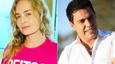 Leão Lobo afirma que Angélica viveu romance com Zezé Di Camargo no passado