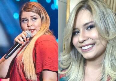 """Após perder mais de 20kg, Marília Mendonça mostra antes e depois: """"Dá pra mudar, sou prova"""""""