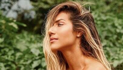 De topless, Giovanna Ewbank posta clique sexy nas redes sociais