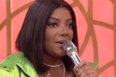"""Ludmilla relembra bullying no início da carreira: """"Diziam que eu cantava muito mal"""""""