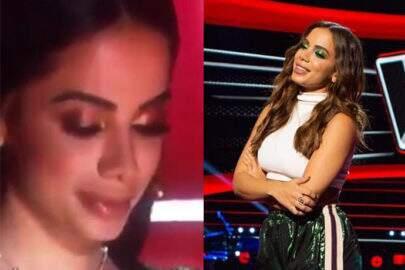 """Anitta é criticada ao vivo em programa mexicano e fica com olhos marejados: """"Exigimos humildade"""""""