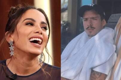 Novo affair de Anitta aparece usando short com o rosto da cantora