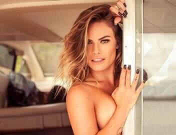 """Ex-BBB Nati Casassola divulga foto sem roupa no Instagram: """"Nua, crua e sem photoshop"""""""