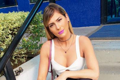 """Lívia Andrade manda recado aos fãs de Mileide Mihaile e viraliza: """"Vão tomar no olho do… café"""""""