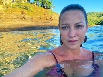 Luana Piovani aparece em bastidores de filme pornô e elogia as partes íntimas de atriz