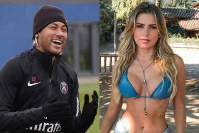 """Neymar reage em foto de bailarina de Faustão e fãs comentam: """"Vai rolar?"""""""