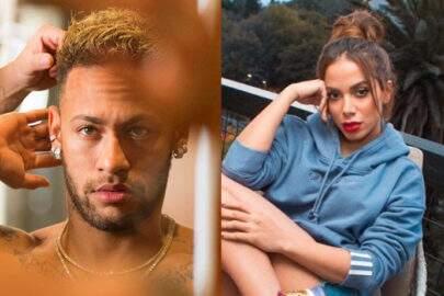 """Neymar reage em foto de Anitta de biquíni fio-dental: """"Bumbum Tam Tam"""""""