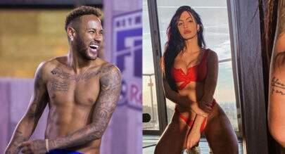 Neymar troca likes com Duda Castro, modelo que acusou Biel de agressão