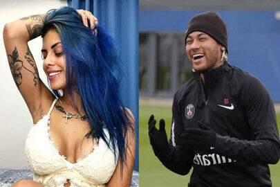 """Tati Zaqui volta a comentar suposto romance com Neymar: """"A gente só deu uma sensualizada"""""""