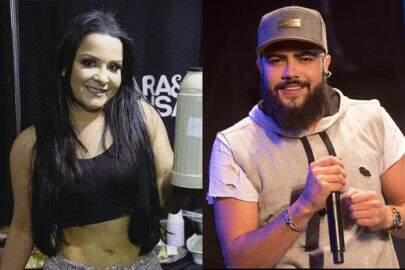 """Com maiô cavado, Maiara surge com Henrique em rio e fãs brincam: """"Marília vai ficar brava"""""""