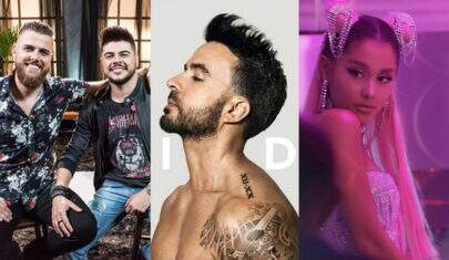 """""""Músicas de sexta"""": Zé Neto & Cristiano, Luis Fonsi e Ariana Grande com remix de """"7 Rings"""""""