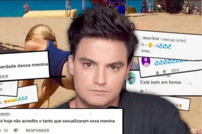 Felipe Neto mostra como YouTube indica vídeos de crianças para pedófilos