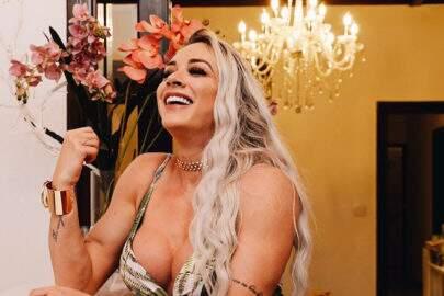 """Juju Salimeni revela que odeia usar lingerie: """"Odeio sutiã e odeio calcinha"""""""