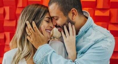 Projota se casa com digital influencer Tamara Contro