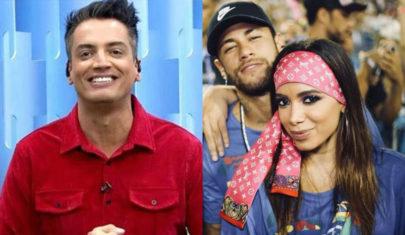 Anitta discute com Leo Dias após colunista divulgar vídeo de beijo com Neymar