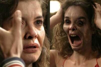 """Internautas se assustam com verdeiro rosto de Isabel na novela """"Espelho da Vida"""""""