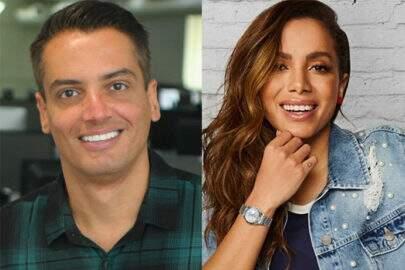 Internauta diz que Leo Dias trabalha para Anitta e jornalista reage em vídeo