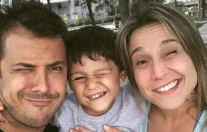 """Ex-marido de Fernanda Gentil faz homenagem para jornalista: """"Parceria e companheirismo"""""""