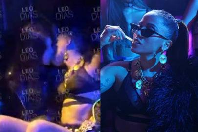 """144aff3d9 Leo Dias vaza vídeo de Anitta beijando duas mulheres  """"Quase ao mesmo tempo"""""""
